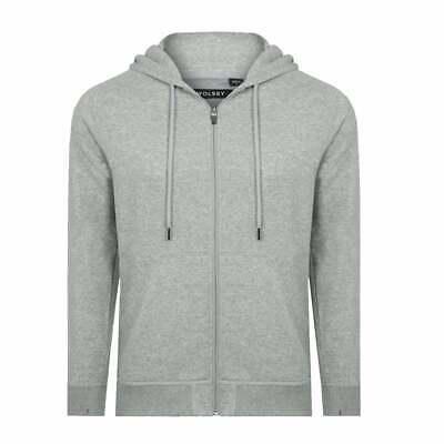 Bjorn Borg Brushed Cotton Fleece Bay Men/'s Hoodie Iron Grey Melange