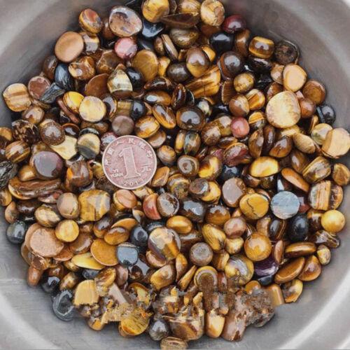 """500G Bulk Tiger Eye Tumbled Stones Small 1//4/"""" Natural Crystals"""