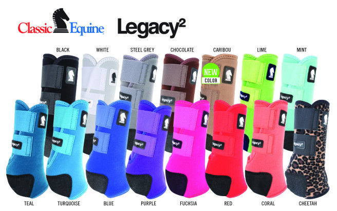 Classic Equine Legacy 2 Front Splint Stiefel Solid