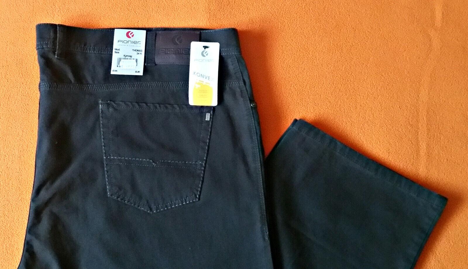 Pionier Jeans Modell Thomas Gr.34 Konvex Grau  | Qualitativ Hochwertiges Produkt  | Ausgewählte Materialien  | Neue Sorten werden eingeführt