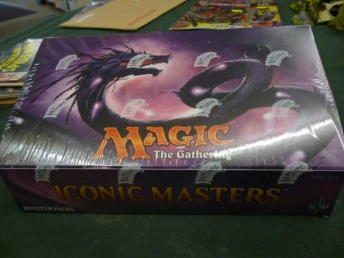 Iconic Masters Booster Box BNIB MTG Factory Sealed