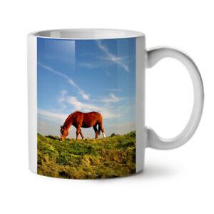Horse Nature Photo Animal NEW White Tea Coffee Mug 11 oz   Wellcoda