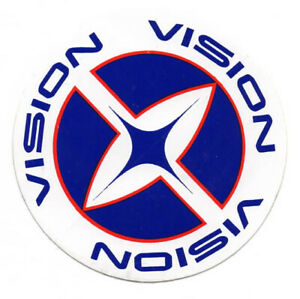 Vtg NOS Vision Streetwear Sticker Decal Skate Skateboard