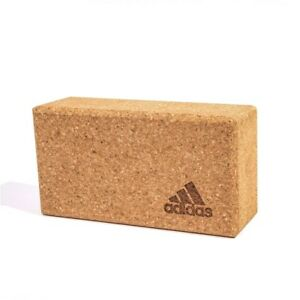 Adidas-Kork-Yoga-Block-Pilates-Brick-Stretch-Ubung-Posen-Training-Hilfe