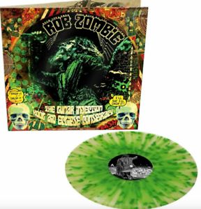 Rob Zombie - The Lunar Injection .. Glow Green Splatter Vinyl LP 300 Worldwide