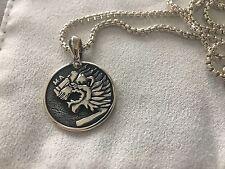David Yurman Petrvs Lion Amulet Plus Chain