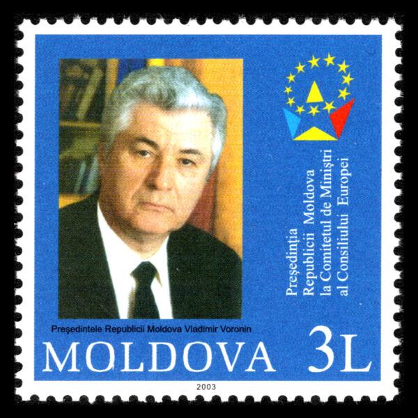 Moldova 2003-conseil De L'europe-sc 455 Neuf Sans Charnière
