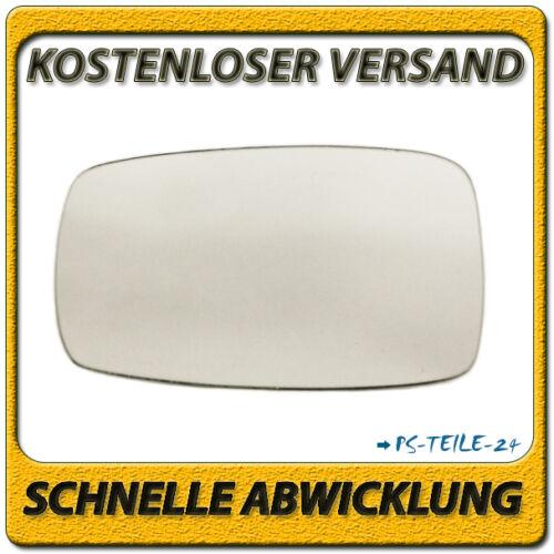 Spiegelglas zum Kleben für VW CORRADO 1988-1995 links konvex