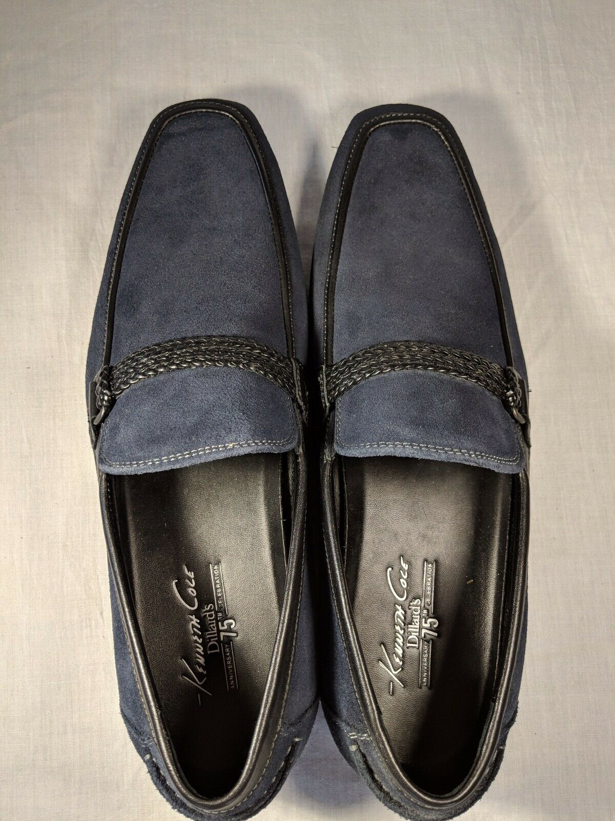 Kenneth Cole loafers Men's Big Band bluee size 11M with Upper Leather Material
