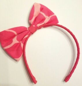Gymboree Toddler Girls Red Bowtie Headband One Size