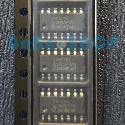 10pcs 74AC14 TC74AC14F SOP14-5.2 HEX SCHMITT INVERTER