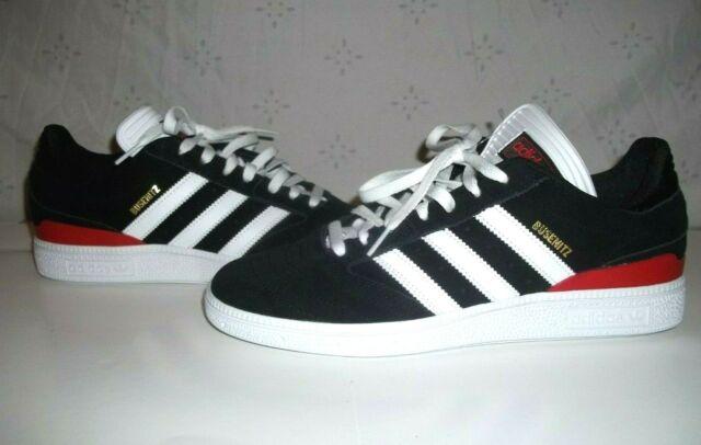 Adidas Busenitz Pro Black White Red Skateboard Shoes New Men's Size 8.5 - B22767