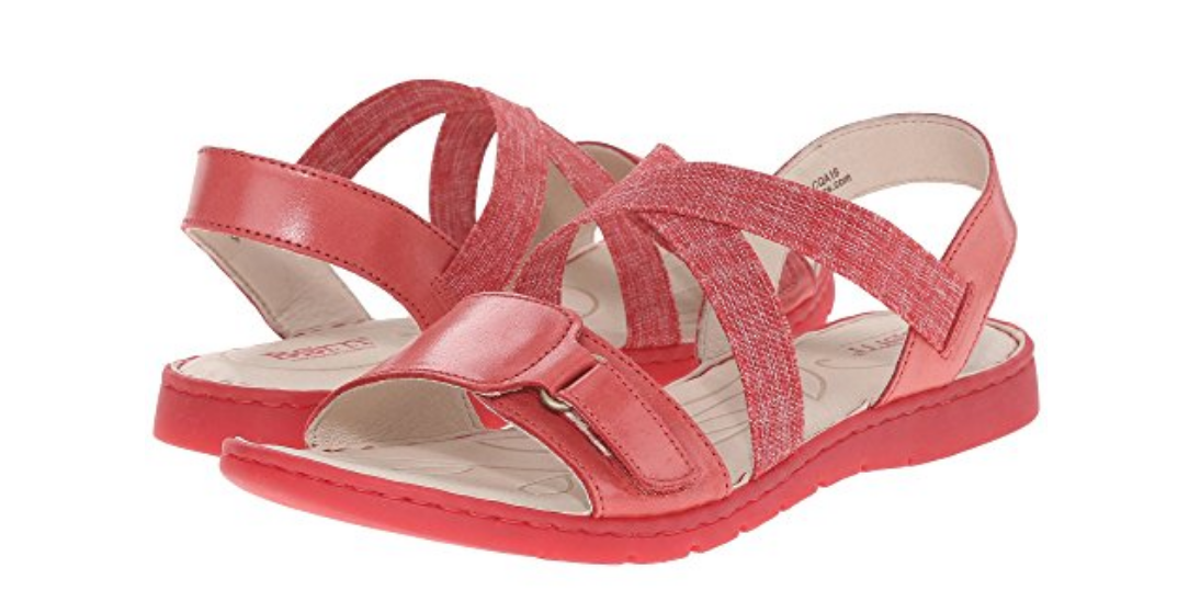 NEW BORN BRITTON rouge STRAPPY SANDALS femmes 11 FREE SHIP