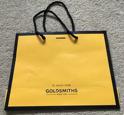Goldsmiths Boutique Gift Bag Black Small