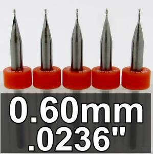 0236-034-0-60mm-lt-Two-Flute-Carbide-End-Mills-gt-FIVE-Pieces-MADE-in-USA-UMT104