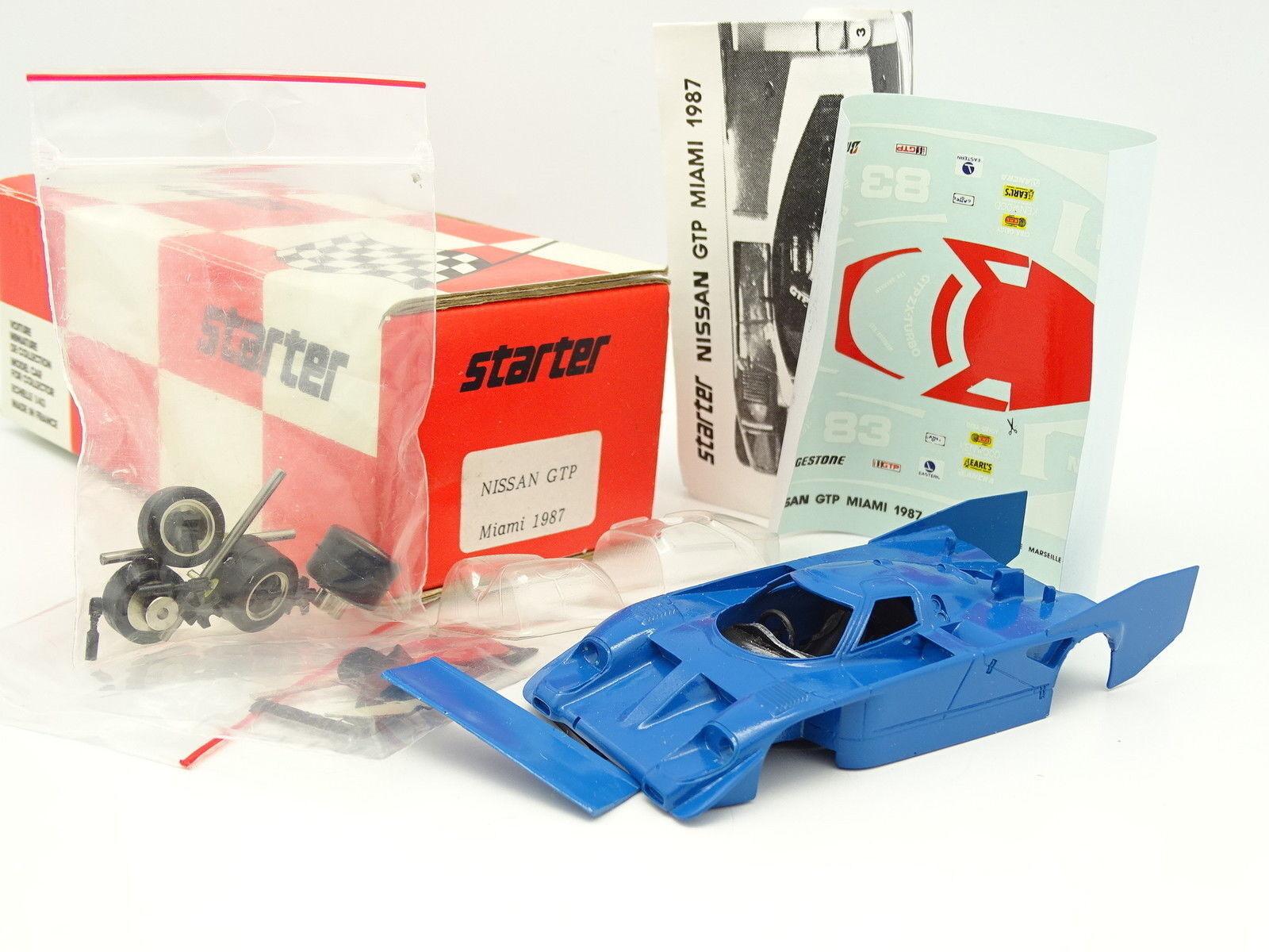 Starter Kit to assemble 1 43 - Nissan ZX Turbo GTP Miami GP 1989