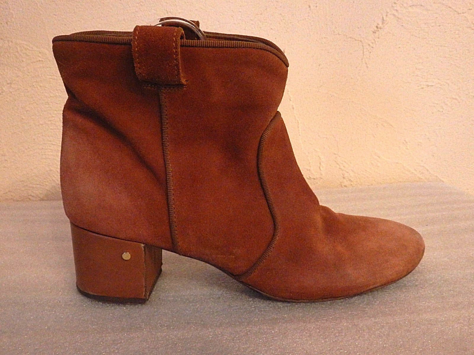 LAURENCE DACADE - BOOTS, BOOTS - SIZE 38 - AUTHENTIC