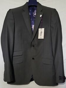 dcdfe57f0fb92 Ted Baker Grey Jacket Regkom Tailored Suit - BNWT UK Size 38R RRP ...