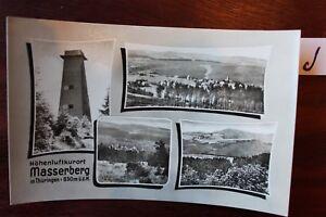 Carte Postale Vue Carte Thuringe Masserberg-afficher Le Titre D'origine Bas Prix