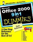 Microsoft Office All in One For Dummies by Alison Barrows, Greg Harvey, Jim McCarter, Peter Weverka, Camille McCue, Lee Musick, John Walkenbach, Bill Dyszel, Damon Dean (Paperback, 1999)