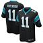 NFL Men/'s Chinn Davis Anderson Bridgewater #21#28#11#5 Carolina Panthers Jersey