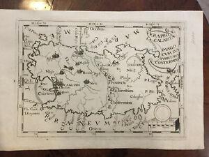 Cartina Antica Sardegna.Antica E Autentica Carta Della Sardegna Dei Frati Cappuccini Del 1712 Cvgl3 19 Ebay