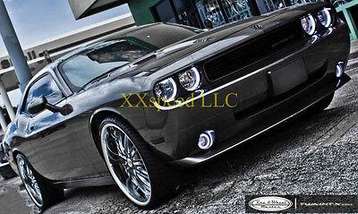 ORACLE Dodge Challenger 08-14 WHITE PLASMA Headlight Halo Angel/Demon Eyes Kit