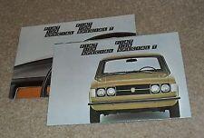 Fiat 124 Special & 124 Special T Brochure 1972-1974