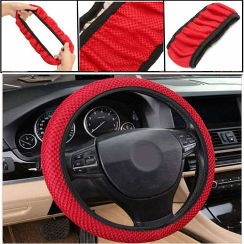 Universal 38CM Car Steering Wheel Cover Anti Slip Summer Cool Elastic