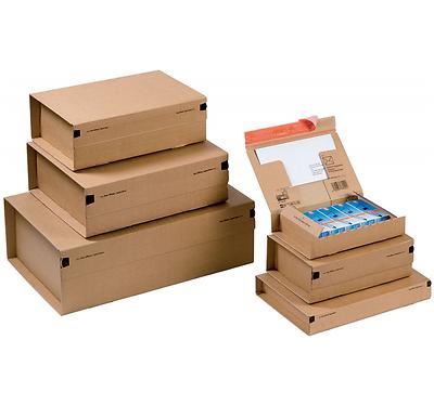 Acquista A Buon Mercato Confezione Da 10 Scatole Cartone Per Spedizione Vari Formati Utili Color Avana Ultimi Design Diversificati