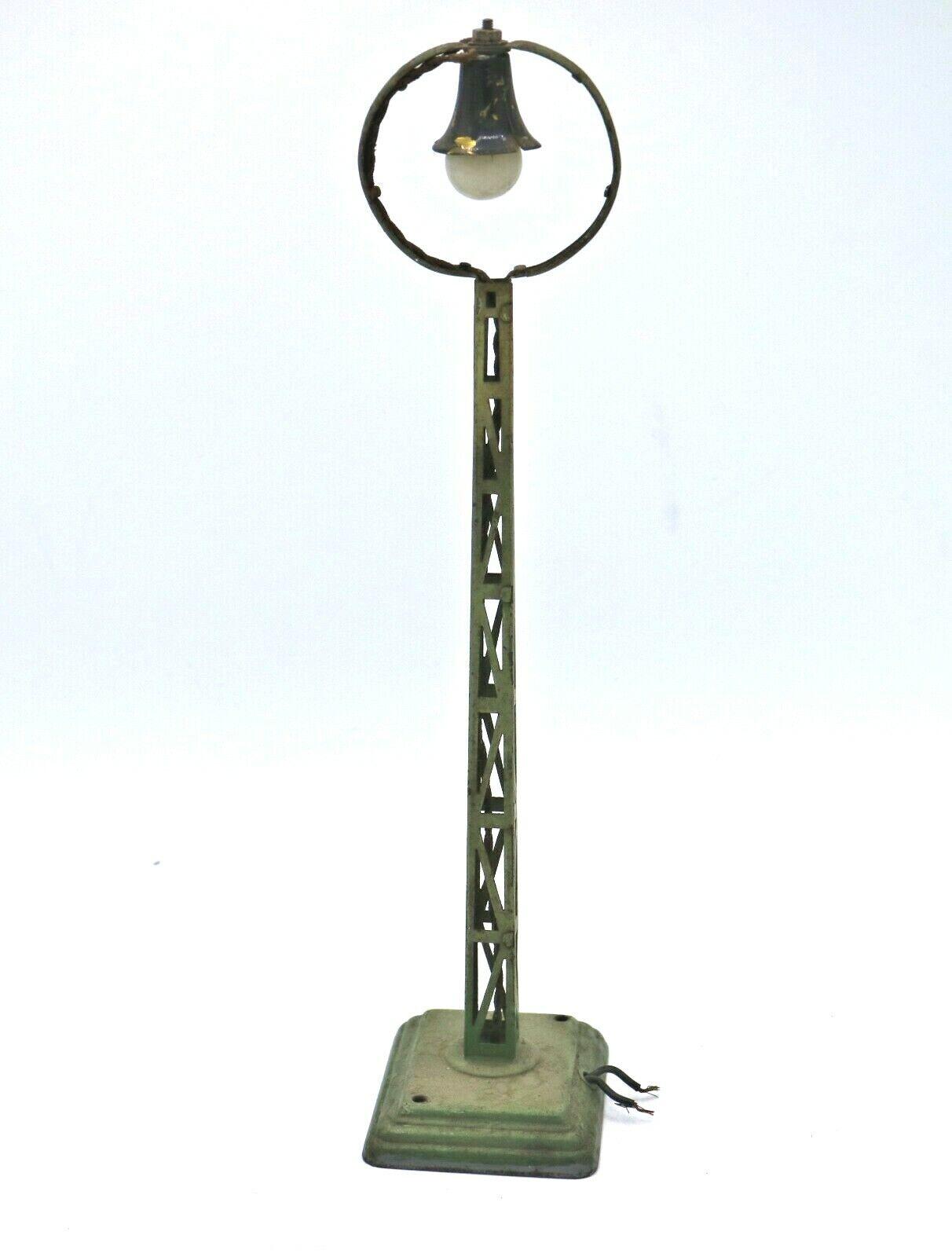 G63G   Original Märklin  0 1 Gauge Arc Lamp 13450