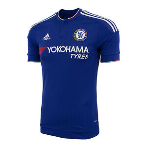 2e47bb636 Image is loading ADIDAS-CHELSEA-FC-AUTHENTIC-HOME-MATCH-JERSEY-2015-