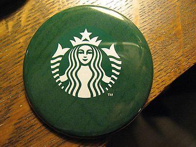 Starbucks Coffee Shop Espresso Barista Logo Advertisement Pocket Lipstick Mirror
