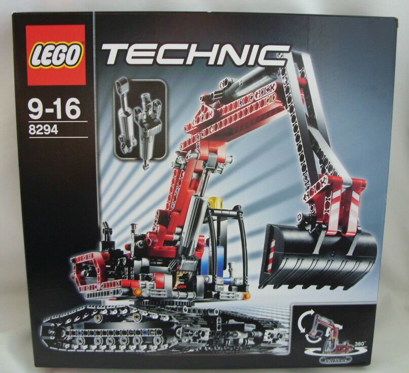 Nuevo Lego Técnica 8294 Excavadora Nuevo Sellado