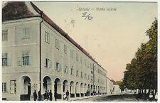 Croatia, Bjelovar, Velika Vajarna, Street Scene, Old Postcard