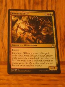 1x Bloodbraid Elf, LP, Eternal Masters, Modern Jund Naya Gruul Zoo Elf Cascade