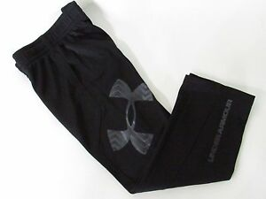 Under Armour Youth Boys Big Logo Fleece Lined Athletic Sweatpants size 4,5