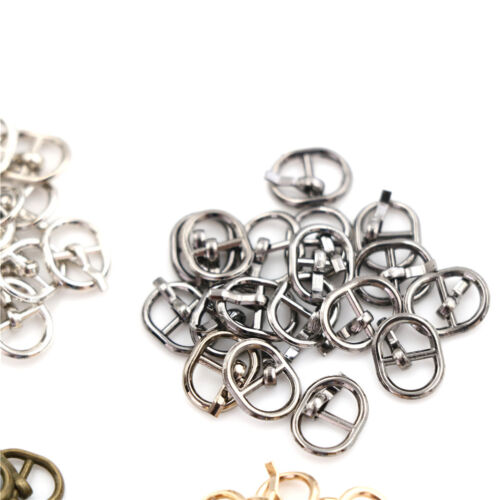 5.5mm Mini Metal Buckle DIY Doll Dress Patchwork Handmade Craft SewingAccess ZP