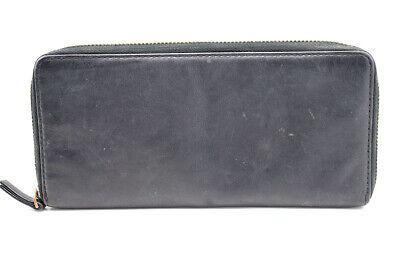 Cos Ziparound Long Leather Wallet Coat Wallet Black Gesundheit FöRdern Und Krankheiten Heilen
