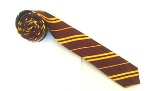 Harry-Potter-Cravate-Hogwarts-Livre-Semaine-Gryffondor-Sorcier-Cravate