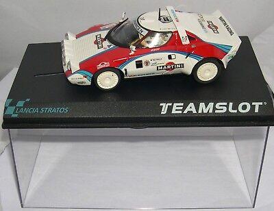 Elektrisches Spielzeug Spielzeug Team Slot 11514 Lancia Stratos T.a.c Rally Martini Y.loubet-f.miclotte Latest Fashion