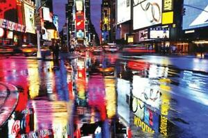 Maxi Poster 91.5cm x 61cm new and sealed New York Window Times Square