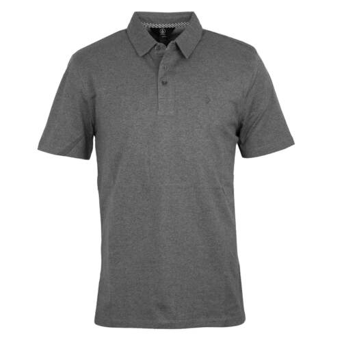 Volcom Wowzer Polo Shirt grau Herren Polo Shirt stealth heather grey
