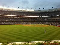 2 Baltimore Orioles New York Yankees 10/1 Tickets 3rd ROW BLEACHERS Section 236
