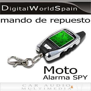 MANDO A DISTANCIA DE REPUESTO PARA ALARMA DE MOTO DE 2 VIAS MARCA SPY