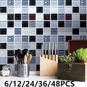 3d crystial effect mosaic wallpaper kitchen bathroom wall