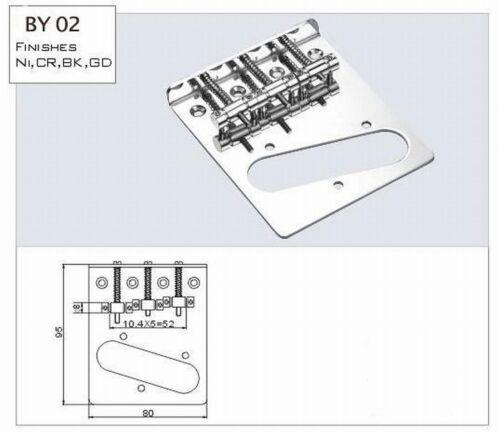 Standard Bridge ML-Factory® II mit 3 Saitenraiter incl Pickup
