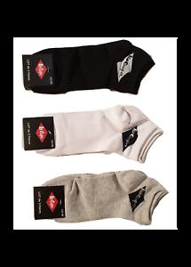 Lee Cooper Lot  de 6 Paires de Socquettes Unies Mixte Coton