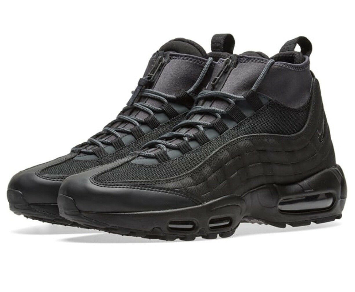 online store e214b 60e38 Nike Air Max Max Max 95 Sneakerboot NOIR Baskets Homme Taille (806809 001)  64f420