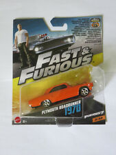Hot Wheels 1:55 Fast Furious - Plymouth Road Runner 1970 Brand new
